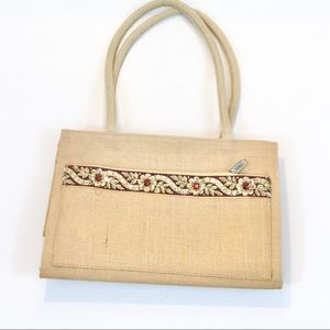 Jute Cottage Vintage Purse